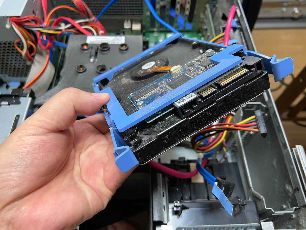 旧PCのHDD